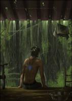 Jungle Rain by Titanium-Pictus