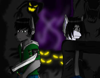 Alleyway of darkness by Shadow-Gibson