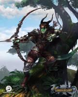Thornheart - Archer by weremonster