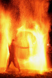 Rain of Fire by SilentGuardian35