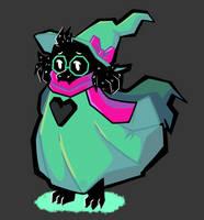 -Fan art- Deltarune - Fluffy boy!!! by SpacyGalaxy