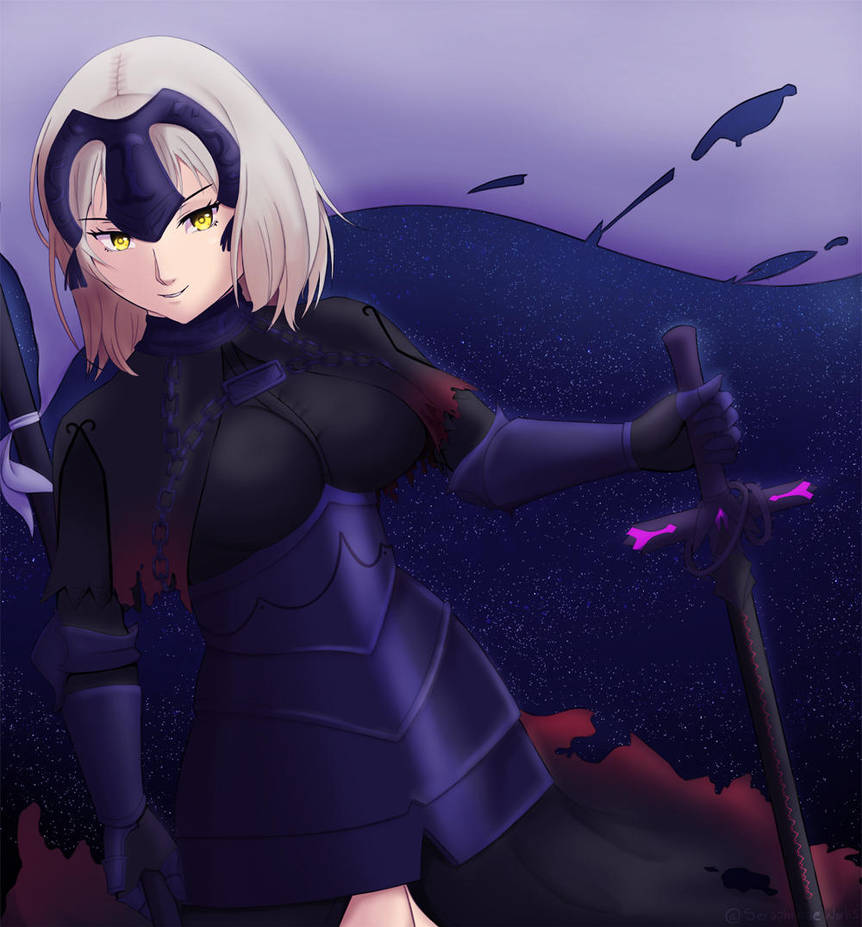 Jeanne D Arc Alter by Seraphinae