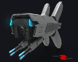 Kygun Warfare Drone by BugraHekimhan