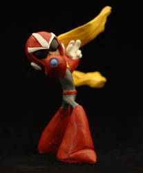 Protoman higher res pic by FritoFrito