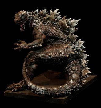 Godzilla Redesign Full body by FritoFrito