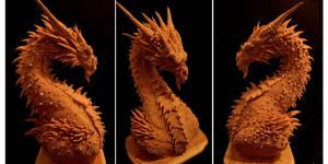 Dragon Bust by FritoFrito