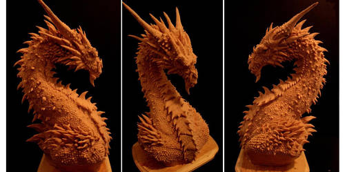 Dragon Bust by FritoFrito
