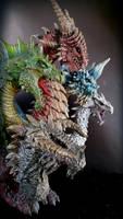 5 headed dragon kit by FritoFrito