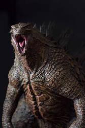 1/100th Scale Godzilla 2014 Statue by FritoFrito