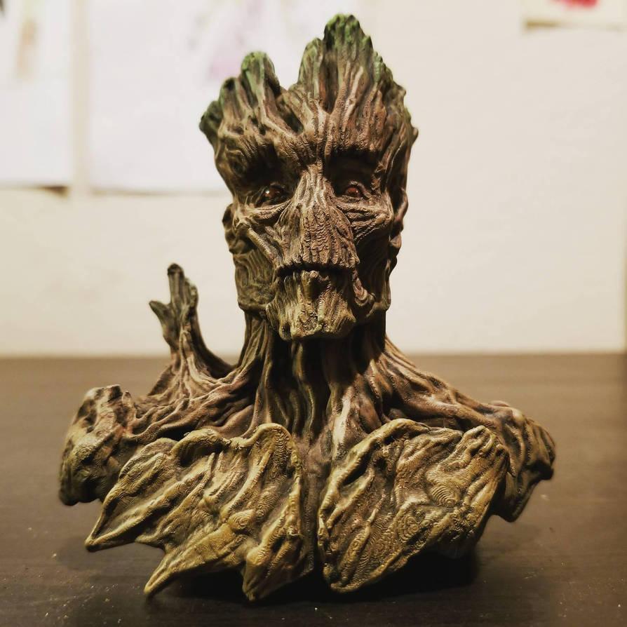 Mini Groooooooot collectible bust  by FritoFrito