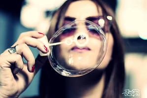 Bubble I by ilkerdgn