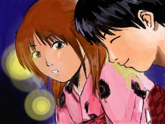 Anko and Noboru by iTennyo