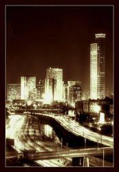 Tel Aviv's night by AndreyOvr