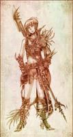 The Dragoon Knight by Sgt-Pork