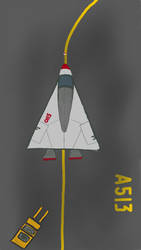 dA Drawing Challenge: Spaceship by seifip