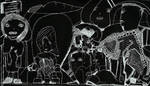 czarno bialy miasto 01 by drewschermick