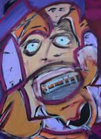 Cybo-Man by drewschermick