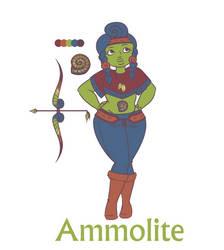 [C] Ammolite (Custom Adopt- Callieway) by GabiStar