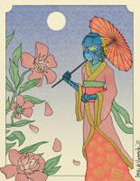 Geisha Gali by chaos-controlled-123