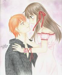 Kyo + Tohru by choyerita