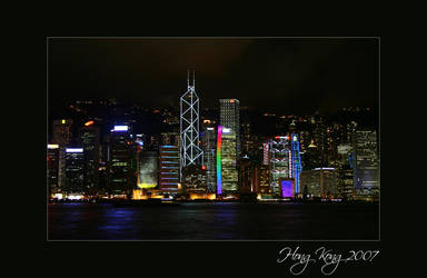 Famous HongKong Harbourview by itscheryl