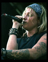 Otep Singer by dragonlady13