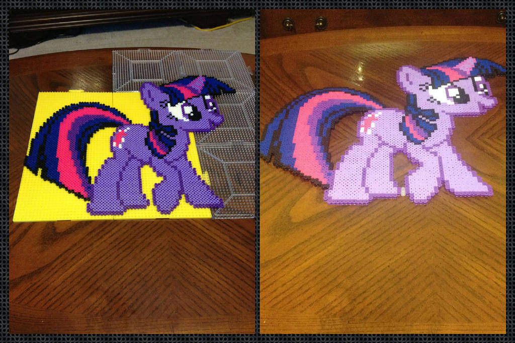 My Little Pony Twilight Sparkle Perler Bead By Jnjfranklin On Deviantart