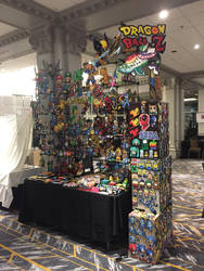 MTAC 2018 Perler Bead Artist Alley Table by jnjfranklin