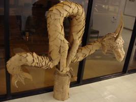 Cardboard Dragon by Frabulator
