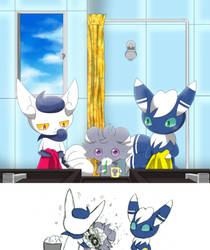 Morning Wash by Winick-Lim