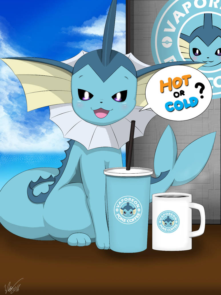 hot or cold vaporeon by winicklim on deviantart