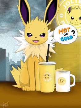 Hot or Cold? ( Jolteon ) by Winick-Lim