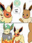 Leafeon Hot Tea by Winick-Lim