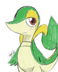 Snivy by Winick-Lim