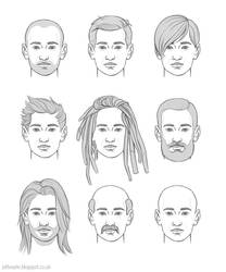 Men's hairstyles by JeffSearle