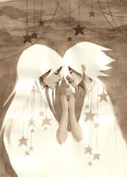 Sepia: Stars by kitten-chan