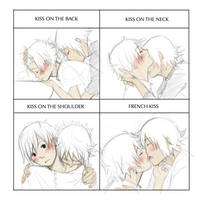 Moukemono: Kiss Meme 2nd by kitten-chan
