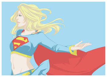 DC: Supergirl by kitten-chan