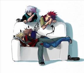 KH: Little Devils by kitten-chan