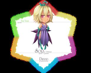 fleur-AC: Sola by DragonfaeryYume