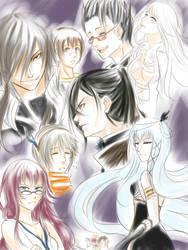 MS Sketch Dump by DragonfaeryYume