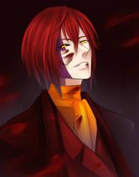 Portrait of a Madman by DragonfaeryYume