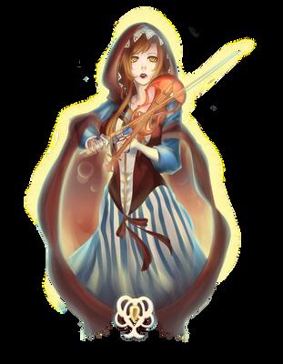 SS - The Violinist Aelia by DragonfaeryYume