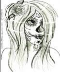 Dia de Muertos~ by sonikku777fan
