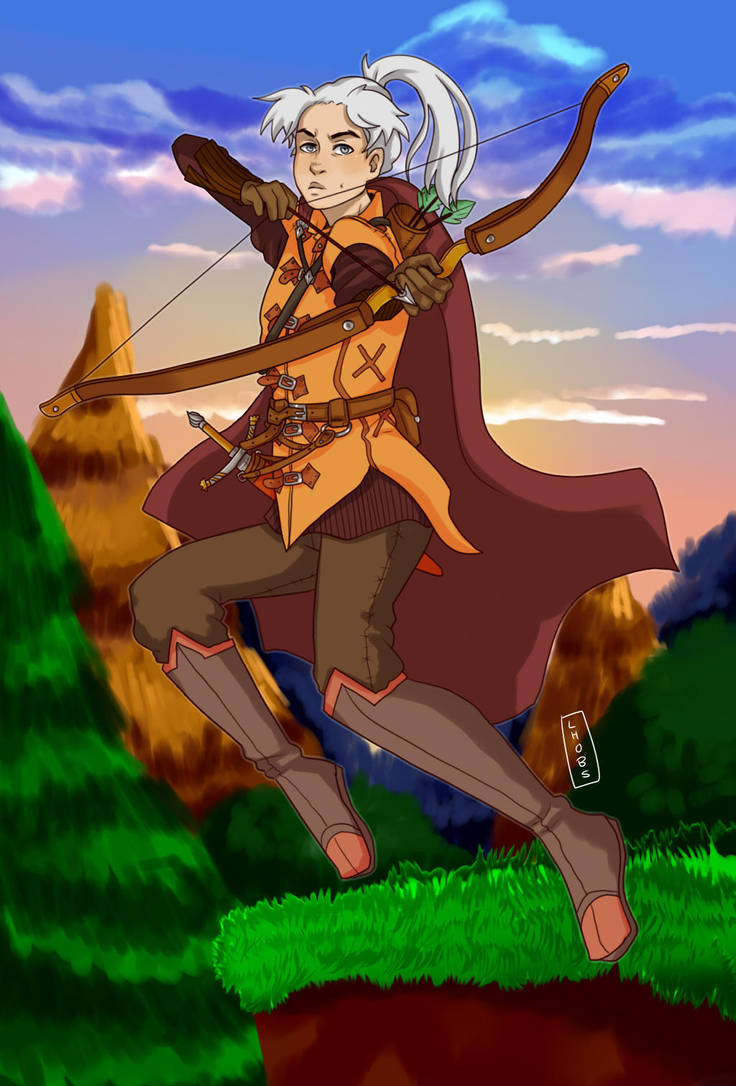 fabulous archer by Lhobs