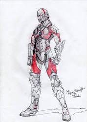 Ultraman-manga-fanart-by kaizovelous-md by Kaizovelousmd