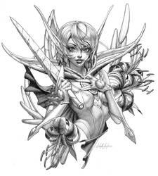 Commission - Jacqueline by MichelleHoefener