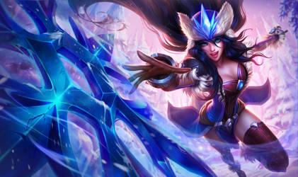 Snowstorm Sivir - League of Legends by MichelleHoefener