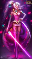 IRIS - Jedi Princess by MichelleHoefener