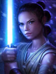 Rey by MichelleHoefener